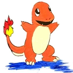 Charmander Paint Kit