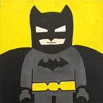 Batman Paint Kit