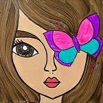 Butterfly Girl Paint Kit