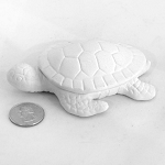 Baby Turtle Figurine Pottery   (PAINT SOLD SEPARATELY - See Below)