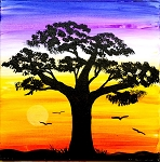 Serengeti Evening Paint Kit