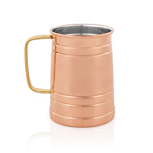 Solid Copper Beer Stein Pint by Viski