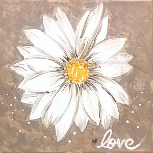 Love Daisy Paint Kit